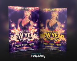 New Year Party Flyer by imagingdc