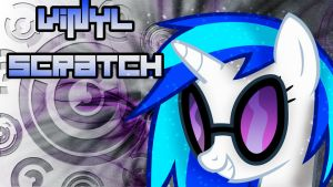 Vinyl Scratch's hard mix Wallpaper by ALoopyDuck