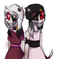 Evil Twins by Tenebrus-Liepard