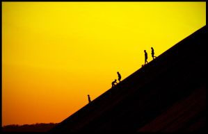 Family sunset by santiago-simple