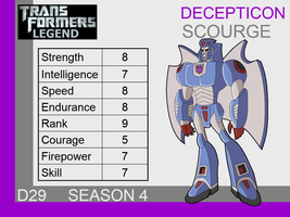 Transformers: Legend D29 - (Scourge) by skyscream1