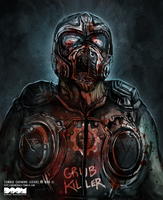 Zombie Carmine Gears of War 3 by DoomCMYK