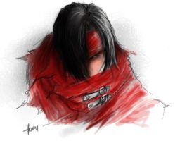 vincent valentine by chuumink