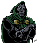 Dr. Doom by Neyebur