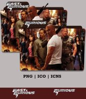 Furious 7 Folder Icon (2015) - Version 2 by Bl4CKSL4YER