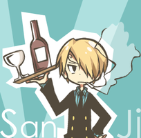 [One Piece] Sanji by mintnatt