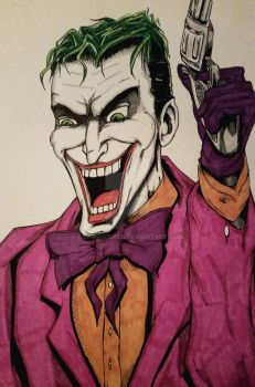the joker by kdawggomab