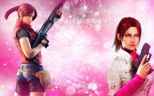 Claire Redfield Wallpaper by MissAdaWong