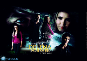 The Vampire Diaries Delena First Meeting by KCV80