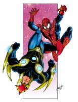 Spidey + Nova by Balla-Bdog