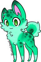 custom pup for sweetdevil231 by AmzyTheChangeling