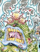 SNOT MONSTER LIVES by Sweet-Babboo