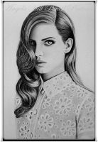 LANA DEL REY by AngelasPortraits