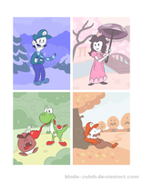 Year of the Mario by Blade-zulah