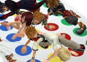 Kingdom Hearts Twister by SorasPrincesss