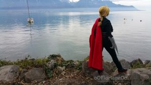Cosplay - Edward Elric - Looking at the horizon by oOFlorianeOo