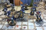 Tactical Squad 01, Eagle Dragoons Chapter by NyQuilDreamer