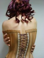 Body Art Corset by 1lonelyangel