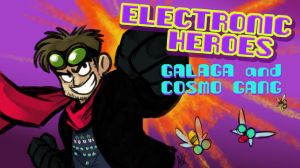 E-Heroes - Galaga and Cosmo Gang by AndrewDickman