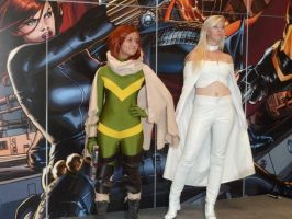 Hope Summers and Emma Frost by nx20