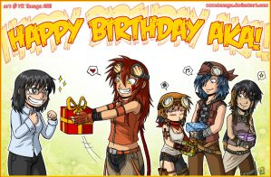 Happy B-Day Aka by Tenaga