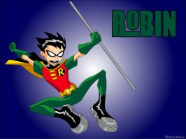 Teen Titans - Robin by Silver-Dreams
