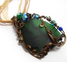 Shadowsea Pendant no. 19 by sojourncuriosities