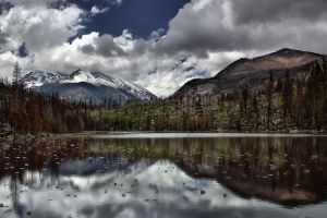 Cub Lake Clouds by MtnMama