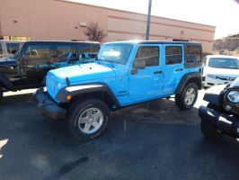 2017 Jeep Wrangler Unlimited Sport by TheHunteroftheUndead