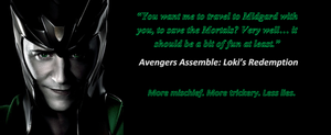 Avengers Assemble Loki's Redemption poster 10 by Purewhitedevil
