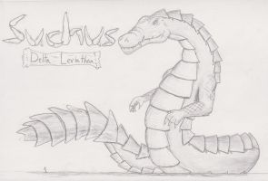 Suchus, Delta Leviathan by TheHiddenElephant