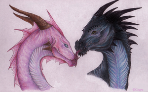 Dragon kiss by G0URE