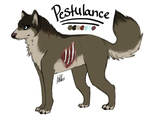 Pestulance Reference (my brown lupe) by shattered-bones