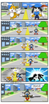 Tails and Klonoa Fusion Comic by Parlinten