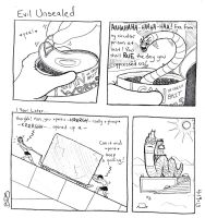 Evil Unsealed by SometimesDrawings
