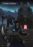 Darksiders death by Ferzog