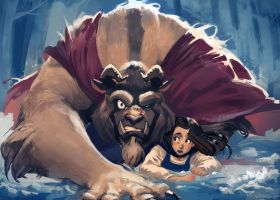 The Beauty and the Beast by lehuss