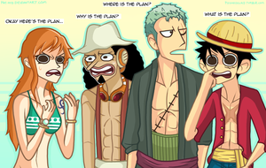 Idiot Crew by Mayonaka-Zetsubo
