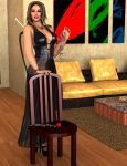 Alexis - Hot Seat by 007Fanatic