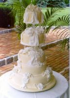 Champagne Drapes by AnnsCakes