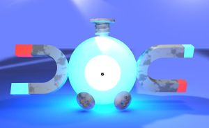 Luminescent Magnemite by MalcolmHinds