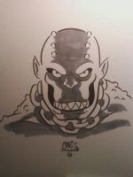 KILLER CROC by ChrisFaccone