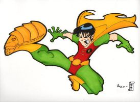 Robin The Franchize color by Petulo