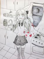 cooking by leyna-gisselle