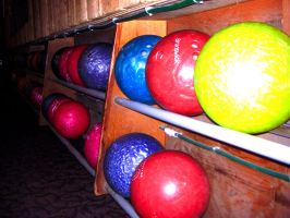 Bowling Balls by BlueFlame74