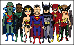 Justice League Animated Series by dannysmicros