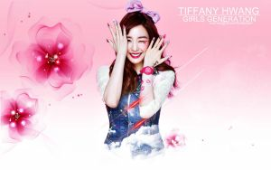 Tiffany Hwang Wallpaper by raspberrishxiu