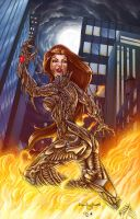 Pasquale Witchblade by DAVID-OCAMPO