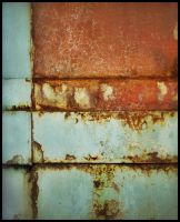 iPhoneography,  Fade to Mondrian by Gerald-Bostock