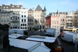 view in AAchen to market by ingeline-art